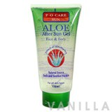 P O Care Aloe After Sun Gel Face & Body