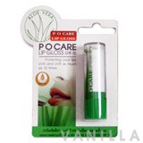 P O Care Aloe Lip Gloss SPF15