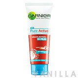 Garnier Pure Active Multi-Action Scrub