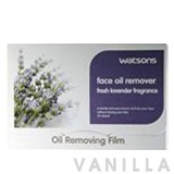 Watsons Face Oil Remover Fresh Lavender