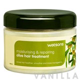 Watsons Moisturising & Repairing Olive Hair Treatment