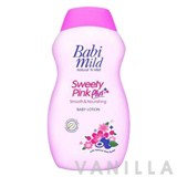 Babi Mild Sweety Pink Plus Baby Lotion