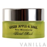 Beauty Cottage Green Apple & Sage Pore Minimizing Facial Mask