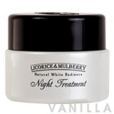 Beauty Cottage Licorice & Mulberry Natural White Radiance Night Treatment