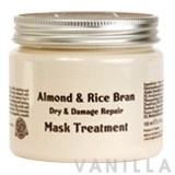 Beauty Cottage Almond & Rice Bran Dry & Damage Repair Mask Treatment
