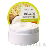 Oriflame Nature Secrets Body Cream Wheat & Coconut