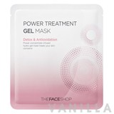 The Face Shop Power Treatment Gel Mask Detox & Anti-Oxidation