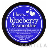 I Love... Blueberry & Smoothie Body Butter