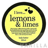 I Love... Lemons & Limes Body Butter