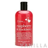 I Love... Raspberry & Blackberry Bubble Bath & Shower Creme