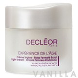 Decleor Light Cream - Wrinkle Firmness Radiance