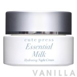 Cute Press Essential Milk Hydrating Night Cream