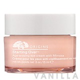 Origins Starting Over Age-Erasing Eye Cream with Mimosa
