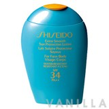 Shiseido Suncare Extra Smooth Sun Protection Lotion SPF34 PA++