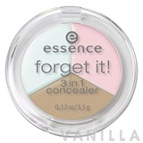 Essence Forget It! 3 in1 Concealer