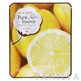Missha Pure Source Sheet Mask Lemon