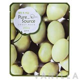 Missha Pure Source Sheet Mask Olive