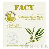 Facy Collagen Tissue Mask Acne Clear Effect