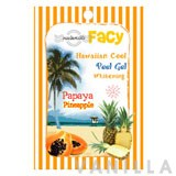 Facy Hawaiian Cool Peel Gel Whitening Papaya Pineapple