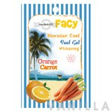 Facy Hawaiian Cool Peel Gel Whitening Orange Carrot