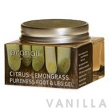 Pranali Citrus-Lemongrass Foot & Leg Gel