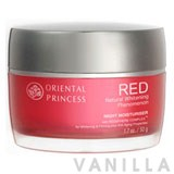 Oriental Princess Red Natural Whitening Phenomenon Night Moisturiser
