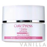 Cute Press Alpha Arbutin Plus O.D.A White Miracle Brightening Night Cream