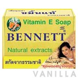 Bennett Vitamin E Soap Plus Curcuma