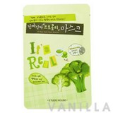 Etude House It's Real Mask Sheet Broccoli