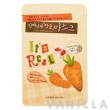 Etude House It's Real Mask Sheet Carrot