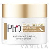 Ph.D. Age Repair Night Cream High Peptides Cell Renew