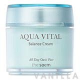 The Saem Aqua Vital Balance Cream