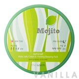 The Saem Mojito Half & Half Moist Jelly Cream & Firming Sleeping Pack