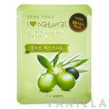 The Saem I Love Natural Olive Mask Sheet