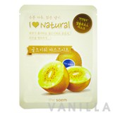 The Saem I Love Natural Gold Kiwi Mask Sheet