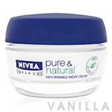 Nivea Pure & Natural Anti-Wrinkle Night Cream