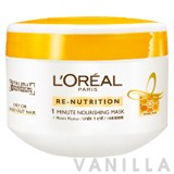L'oreal Re-Nutrition 1 Minute Nourishing Mask