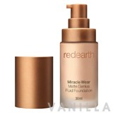 Red Earth Miracle Wear Matte Genius Fluid Foundation