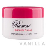 Lanopearl Purarose Placenta & Rose Aromatherapy Cream