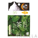 Cow Brand Shizen Gokochi Facial Cleansing Soap Green Tea