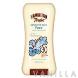 Hawaiian Tropic Sensitive Skin Face Lotion Sunscreen SPF30