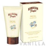 Hawaiian Tropic Facial Sunscreen Lotion SPF50
