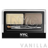 New York Color Browser Brush-On Brow Kit