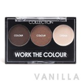 Collection Work The Colour Trio Eye Shadow