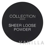 Collection Sheer Loose Powder