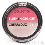 Collection Blush & Highlight Cream Duo