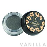 17 Wild Metallic Cream Eyeshadow