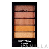 BYS Cosmetics Eyeshadow 5 Piece Horizontal