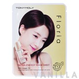 Tony Moly Floria Nutra-Energy Mask Sheet with Argan Oil