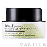 Belif First Aid Deep Pore Care Mask